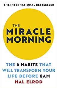 The Miracle Morning by Hal Elrod Book Cover