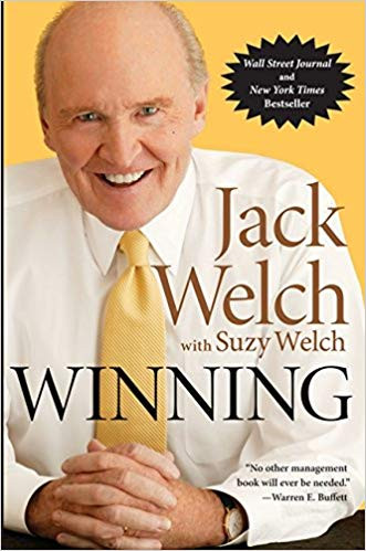 Winning by Jack Welch Book Cover