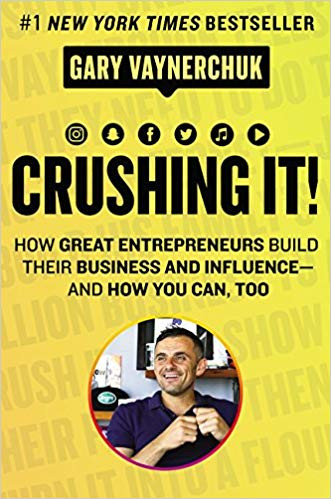 Crushing It! By Gary Vaynerchuk Book Cover