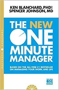 The New One Minute Manager by Kenneth Blanchard and Spencer Johnson Book Cover