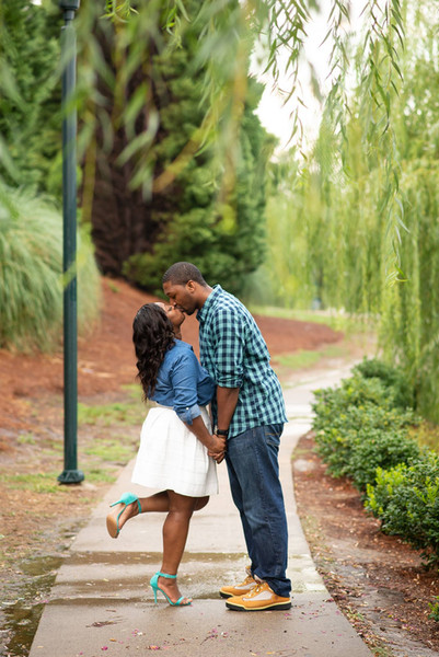 Charlotte NC Engagement Session