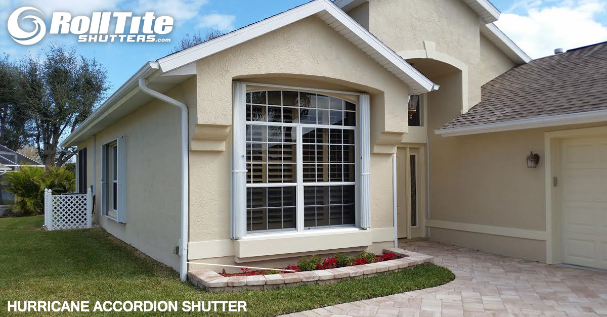 Hurricane Accordion Shutters