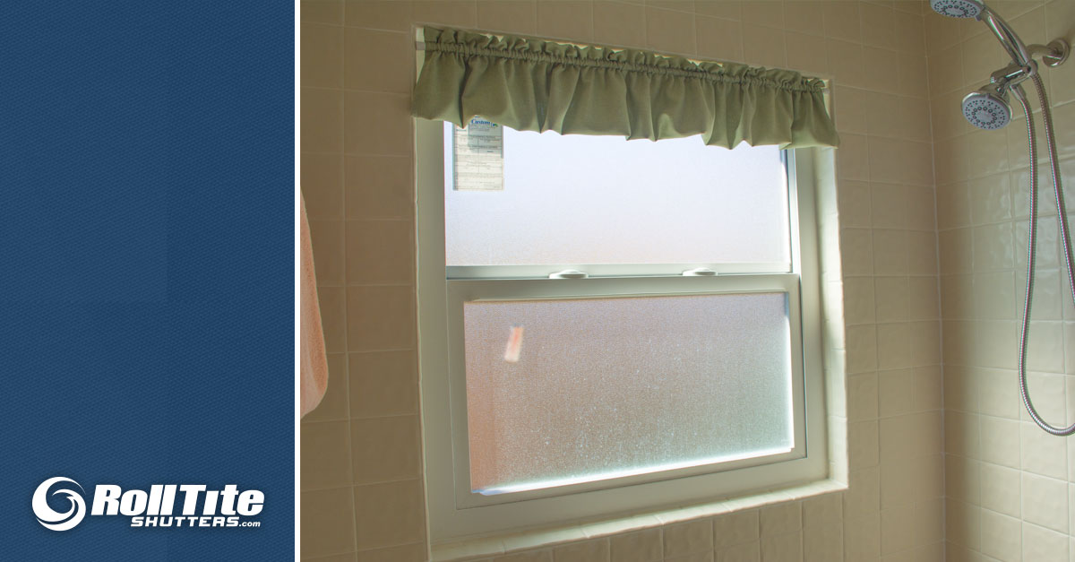 New! Bathroom Window