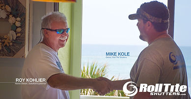 Mike Kole, Roll Tite Shutters, Roll Down Hurricane Shutters