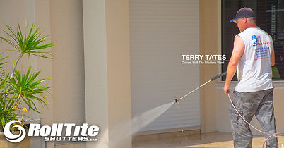 Terry Tates, Roll Tite Shutters, Roll Down Hurricane Shutters