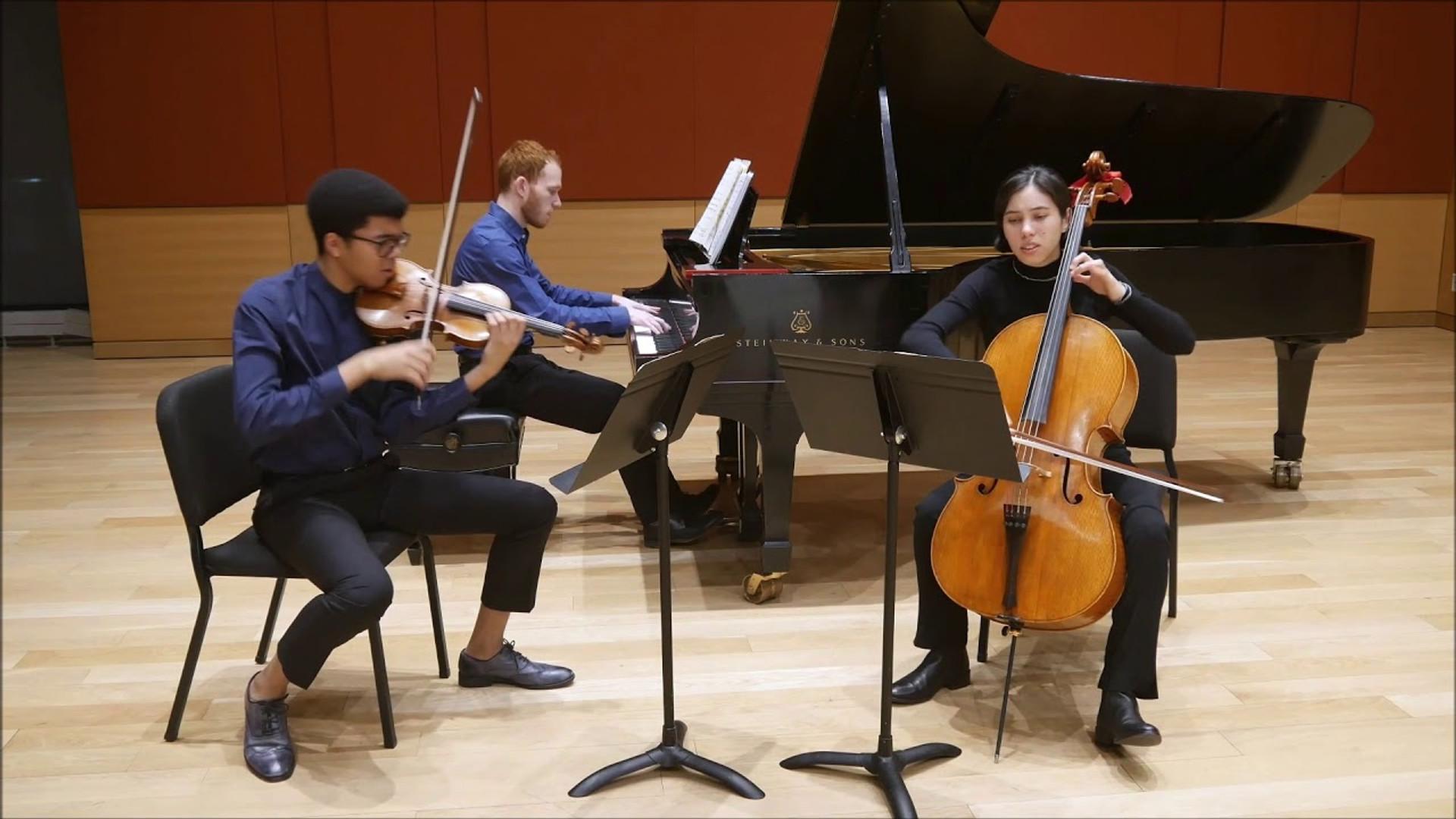 Mieczyslaw Weinberg | Piano Trio: Toccata