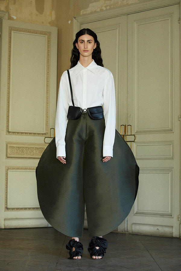 Look 10 Hombre blouse: Brag bag: Circula