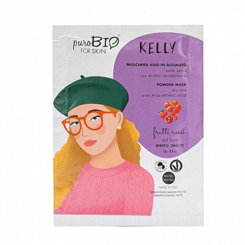 """PuroBio Альгинатная маска """"Kelly, красные ягоды"""" для сухой кожи"""