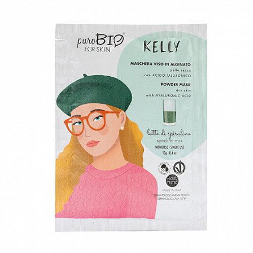 "PuroBio Альгинатная маска ""Kelly, спирулина молоко"" для сухой кожи"