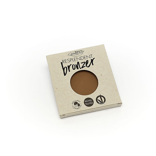 PuroBio бронзер 01 бледно-коричневый, рефил