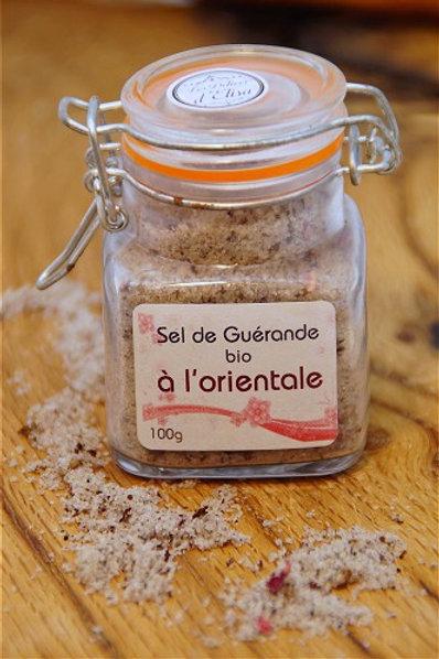 SEL DE GUÉRANDE Á L'ORIENTALE - 100G