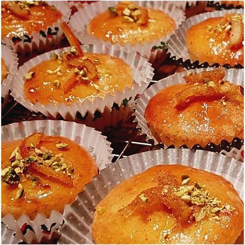 Petits gâteaux moelleux - Orange-Cocos-Gingembre - Éditions Noël - environ 70g