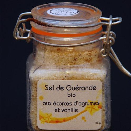 SEL DE GUÉRANDE Á L'ÉCORCE D'AGRUMES - 100G