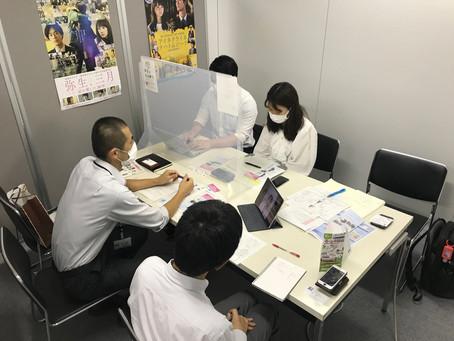 仙台観光国際協会への訪問 Visit to Sendai Tourism, Convention, and International Association on July 1, 2021