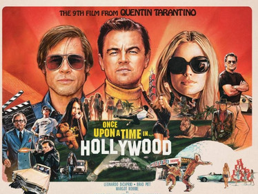 Overpraised Vanity: ONCE UPON A TIME IN HOLLYWOOD