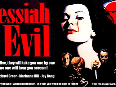 WIHM: DAY #19 MESSIAH OF EVIL