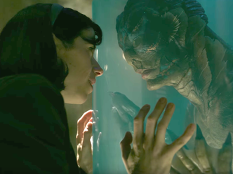 The Shape of Love is THE SHAPE OF WATER