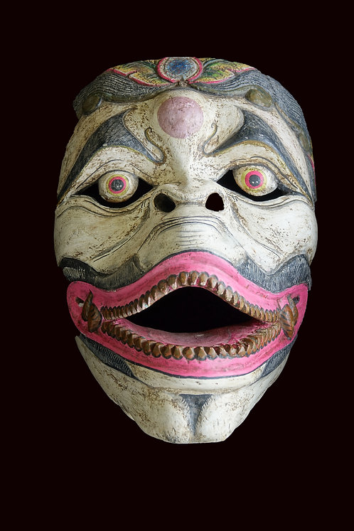 Topeng Balinese Hanuman Monkey Dance Wooden Mask