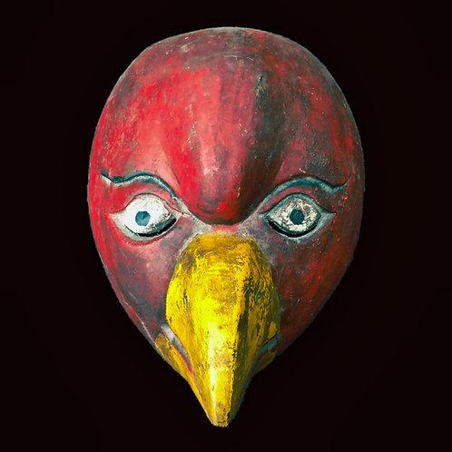 Topeng - Burung Nuri - parrot