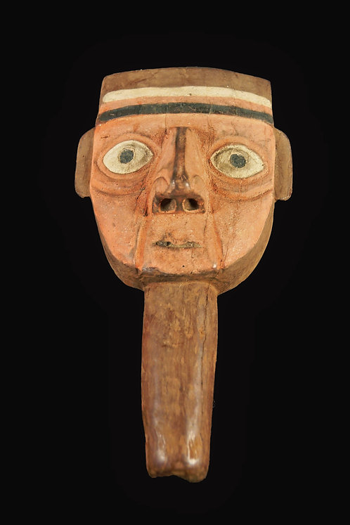 Chancay Burial Mask