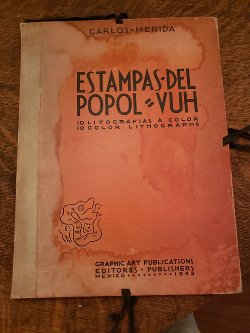 """Estampas del Popol Vuh"" by Carlos Merida."