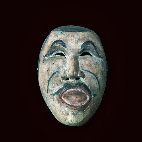 Topeng - Klati or Melet - man sticking his tong out