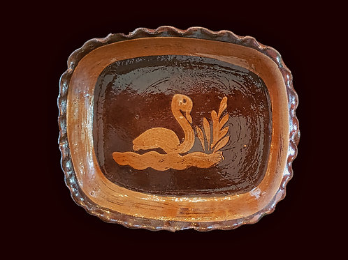 Mexican Earth ware Bowl - Tlaquepaque, Jalisco