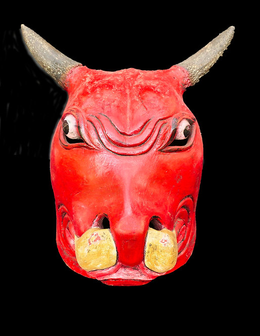 Topeng full head mask - Bull
