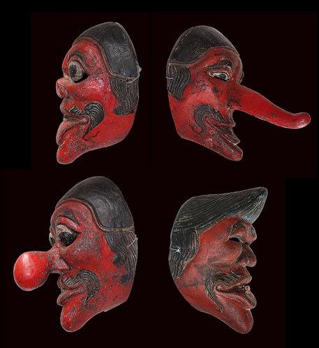 Topeng - Punakawan Masks – Complete Set