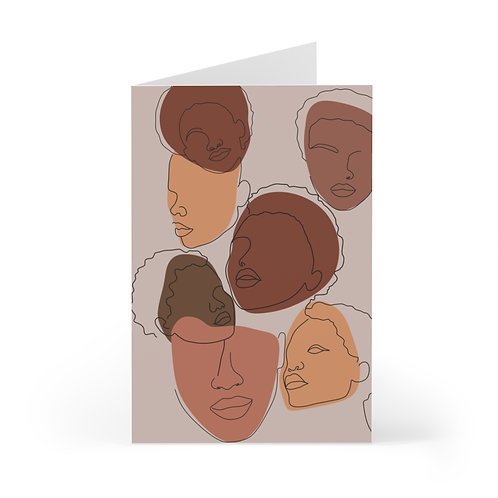 Faces of Femme Greeting Cards (7 pcs)