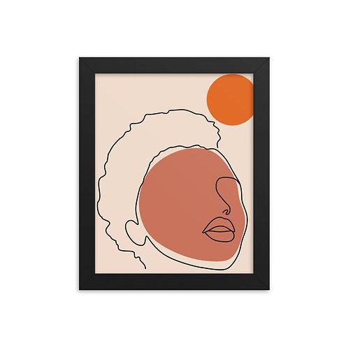 Face of Femme (Framed)