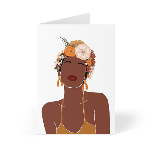 Sister Flower Child Greeting Cards (8 pcs)