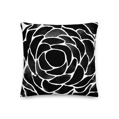 Water Color Abstract Pillow