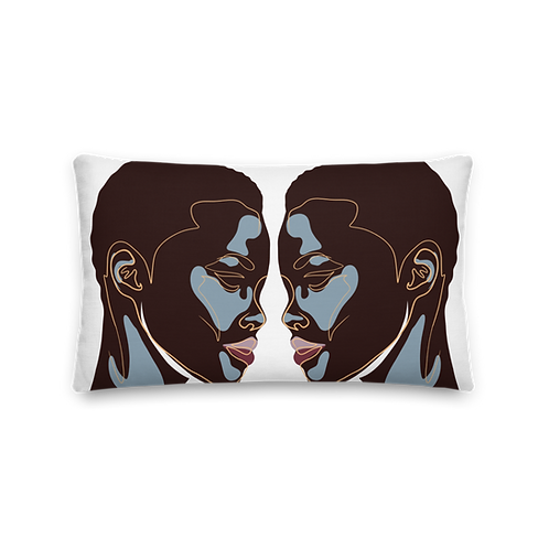 Black Beauty Pillow