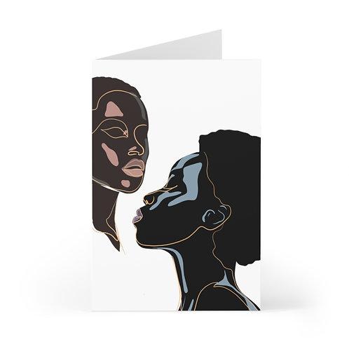 Black Beauty Greeting Cards (7 pcs)