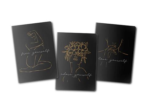 Shine On Set of 3 Journals
