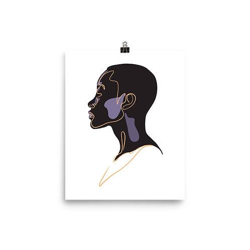 Black Beauty Print