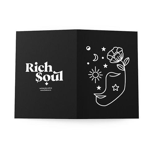 Rich Soul Exclusive Mystical Greeting Cards (8 pcs)