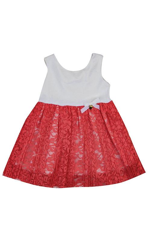 Φόρεμα δαντέλα SERAFINO  1-5 ετών