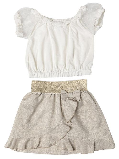 Σετ φούστα μπλούζα SERAFINO 1-5