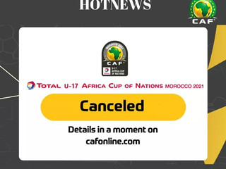 AFCON U17 postponed until further notice