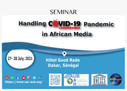 Workshop Programme: Handling COVID-19 in the media in Africa
