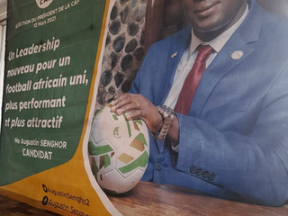 Election of CAF president: Candidate Augustin Senghor unveils ambitious project in Cameroon