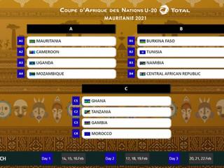 Coupe d'Afrique des Nations Total U-20, Mauritanie 2021