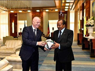 CHAN CAMEROON 2020: FIFA President is in Yaounde