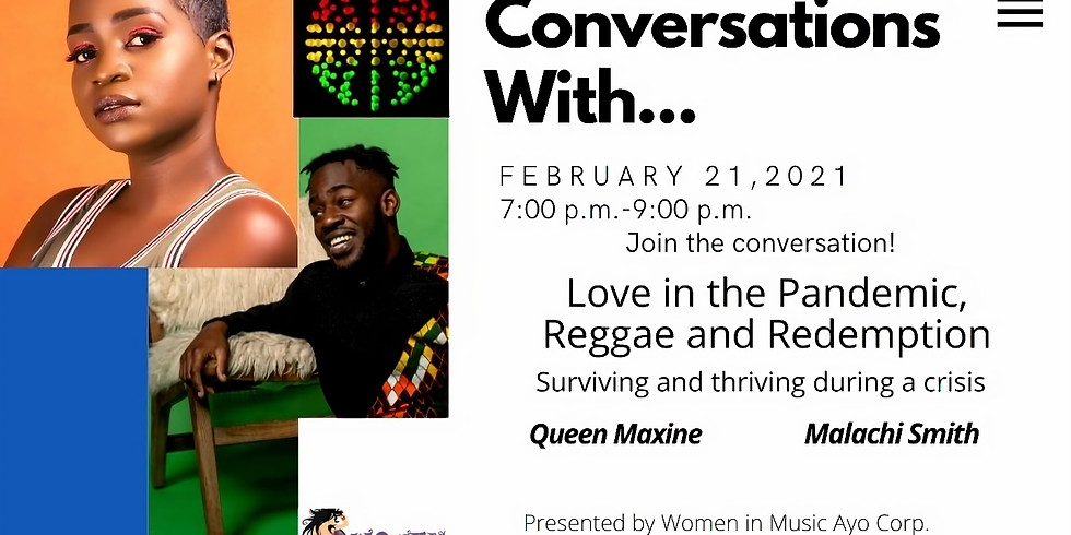 Conversations With... Love in the Pandemic, Reggae & Redemption