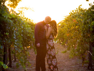 Proposal/Engagement photoshoot in wine country, Temecula!