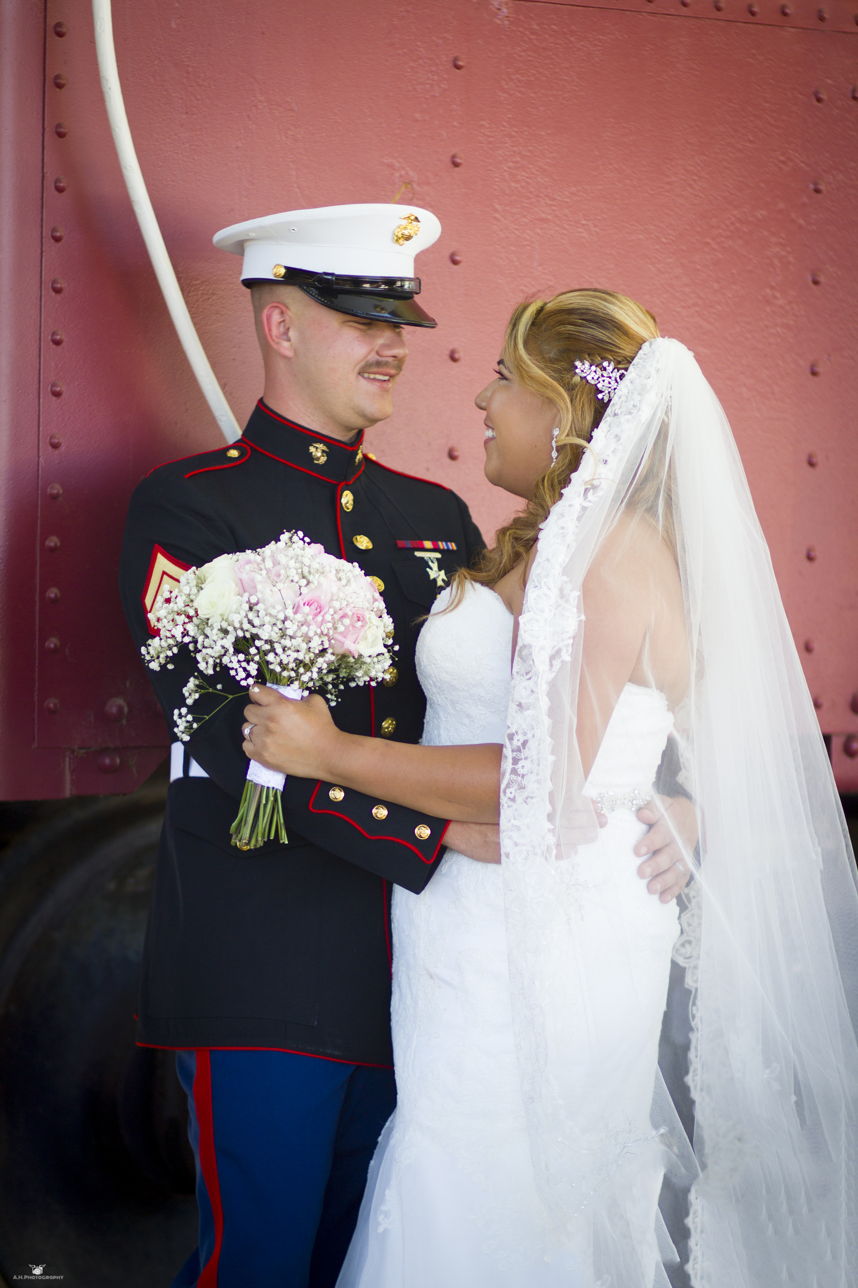 Military Wedding Photography!
