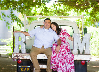 Engagement Photoshoot at Peltzer winery in Temecula