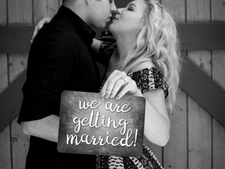 Engagement photoshoot in wine country in Temecula!